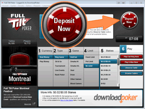 Make a Deposit to claim your bonus