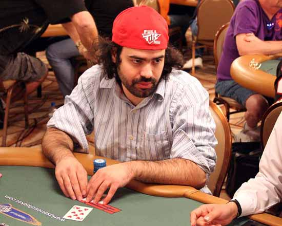 Aaron Bartley at the tables