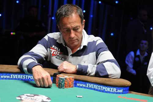 Eddy Scharf at the Tables