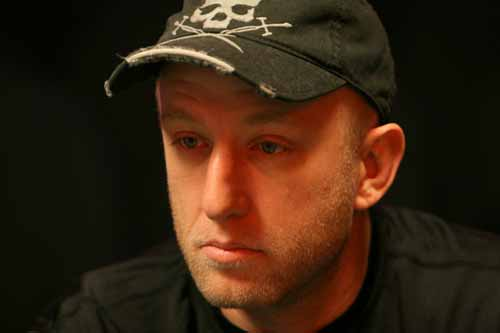 Lee Watkinson at the tables