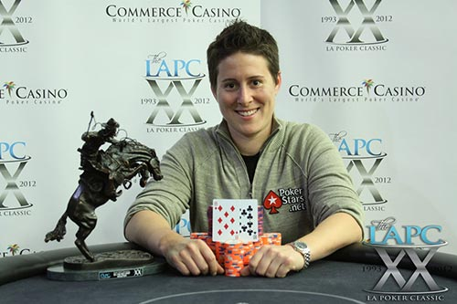 Vanessa Selbst tournament wins