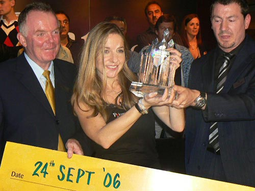 Victoria Coren EPT London 2006 win