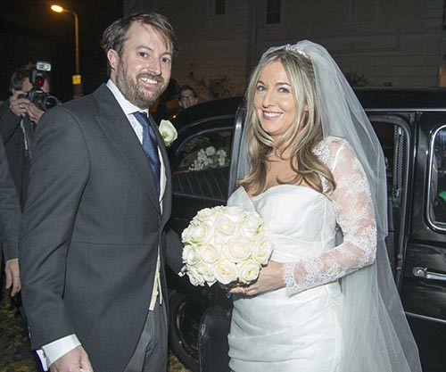 Victoria Coren marries David Mitchell