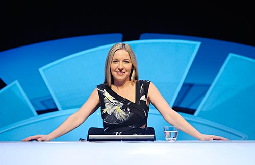 Victoria Coren TV presenter