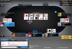 888 Poker Down